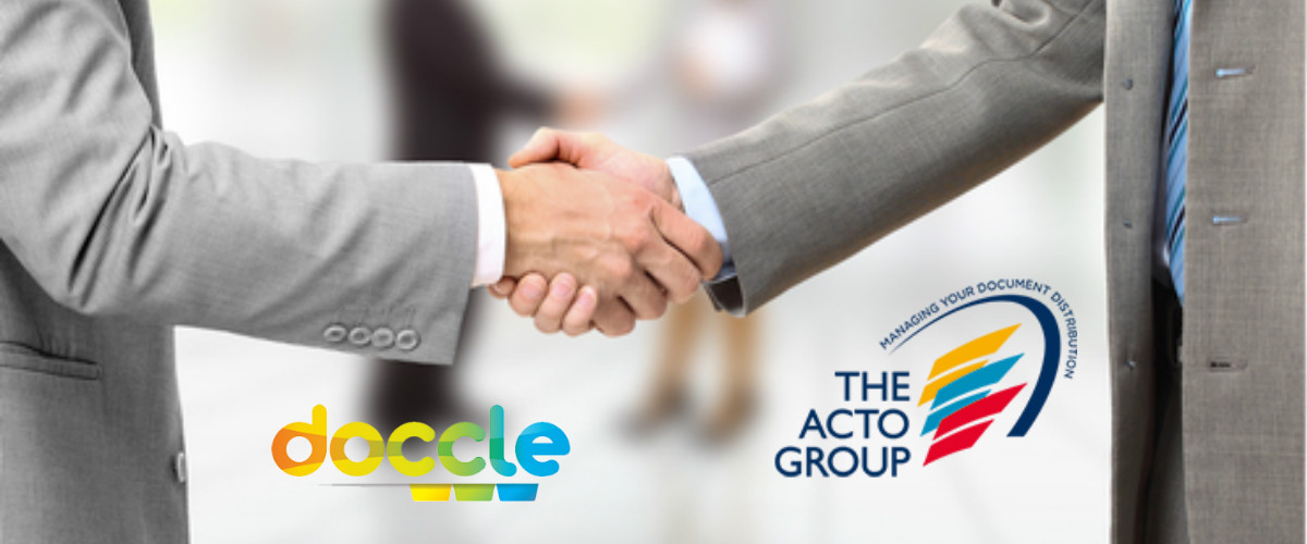 Acto Group connected with Doccle